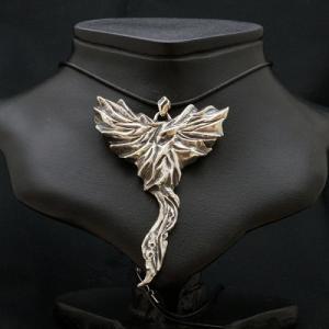 フェニックスペンダント | メンズ | シルバー | 火の鳥 | silver ring | 銀の環|ginnowa