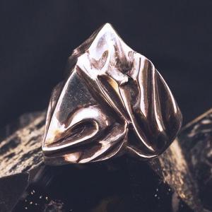 フレイムリング - heart - | メンズ | シルバー | ハート | silver ring | 銀の環|ginnowa