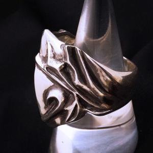 フレイムリング - heart - | メンズ | シルバー | ハート | silver ring | 銀の環|ginnowa|02