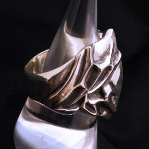 フレイムリング - heart - | メンズ | シルバー | ハート | silver ring | 銀の環|ginnowa|04
