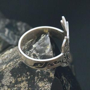 シルバーリング - フェニックス - | メンズ | シルバー | トライバル | silver ring | 銀の環|ginnowa|05