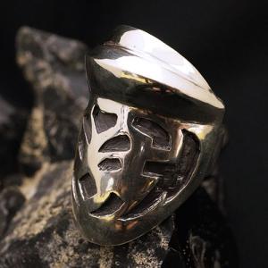 シールドリング - knight - | メンズ | シルバー | ナイト | silver ring | 銀の環|ginnowa