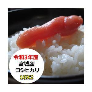 新米 米 20kg お米 宮城産コシヒカリ 玄米 送料無料 平成30年産 選べる精米方法|ginshari