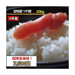 米 20kg お米 宮城産 つや姫 玄米 送料無料 平成29年産 選べる精米方法|ginshari