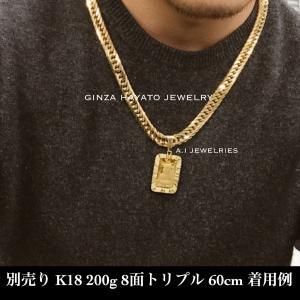 ペンダント 18金 純金 インゴット 特大 新品 本物 資産 リバティ k18 k24