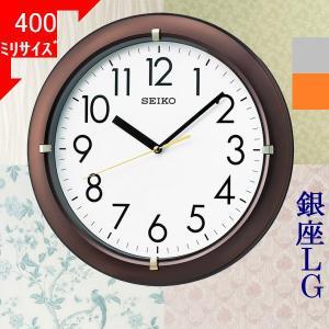 掛時計 セイコー(SEIKO) 丸形 ブラウン/...の商品画像