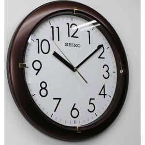 掛時計 セイコー(SEIKO) 丸形 ブラウン...の詳細画像2