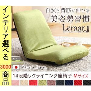 座椅子 42×53.5×45cm ポリエステル 背筋重視設計 Mサイズ 日本製 9色展開 HTSH07LERMの写真