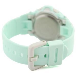 腕時計 レディース カシオ(CASIO) ベビーG(Baby-G) デジタル 160型 リーフ(Reef) クォーツ ライトブルー/シルバー色 WCB88G169R3 / 当店再検品済 ginza-luxury 02