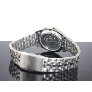 腕時計 メンズ セイコー5(SEIKO5) オートマチック 曜日・日付表示 ステンレスベルト シルバー/シルバー色 WS88NK355K1 / 当店再検品済=|ginza-luxury|02