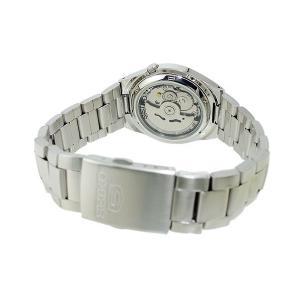 腕時計 メンズ セイコー5(SEIKO5) オートマチック 曜日・日付表示 ステンレスベルト シルバー/ブラック色 WS88NK607K1 / 当店再検品済 ginza-luxury 02