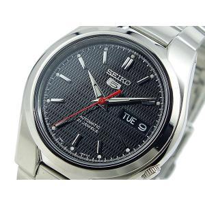 腕時計 メンズ セイコー5(SEIKO5) オートマチック 曜日・日付表示 ステンレスベルト シルバー/ブラック色 WS88NK607K1 / 当店再検品済 ginza-luxury 03
