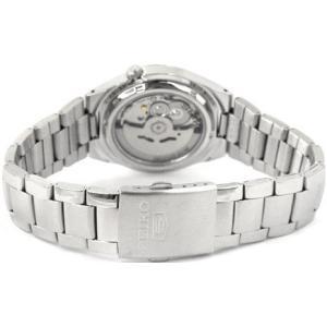 腕時計 メンズ セイコー5(SEIKO5) オートマチック 曜日・日付表示 ステンレスベルト シルバー/ブルー色 WS88NK621K1 / 当店再検品済|ginza-luxury|02