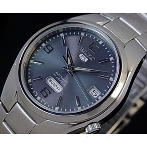 腕時計 メンズ セイコー5(SEIKO5) オートマチック 曜日・日付表示 ステンレスベルト シルバー/ブルー色 WS88NK621K1 / 当店再検品済|ginza-luxury|03