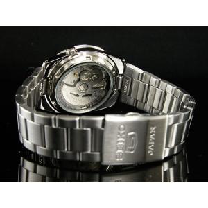 腕時計 メンズ セイコー5(SEIKO5) オートマチック 曜日・日付表示 日本製 ステンレスベルト シルバー/ブラック色 WS88NKE01J1 / 当店再検品済|ginza-luxury|02