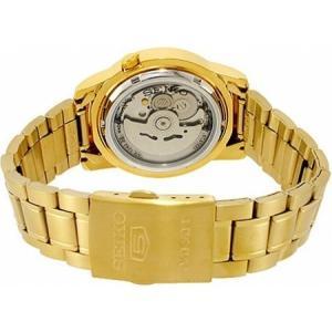 腕時計 メンズ セイコー5(SEIKO5) オートマチック 曜日・日付表示 ステンレスベルト ゴールド/ゴールド色 WS88NKK20K1 / 当店再検品済 ginza-luxury 02