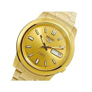 腕時計 メンズ セイコー5(SEIKO5) オートマチック 曜日・日付表示 ステンレスベルト ゴールド/ゴールド色 WS88NKK20K1 / 当店再検品済 ginza-luxury 03