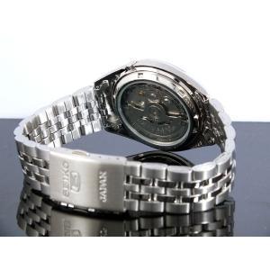 腕時計 メンズ セイコー5(SEIKO5) オートマチック 曜日・日付表示 日本製 ステンレスベルト シルバー/ブラック色 WS88NKL23J1 / 当店再検品済|ginza-luxury|02