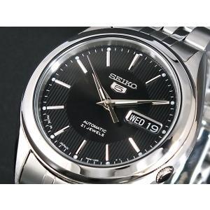 腕時計 メンズ セイコー5(SEIKO5) オートマチック 曜日・日付表示 日本製 ステンレスベルト シルバー/ブラック色 WS88NKL23J1 / 当店再検品済|ginza-luxury|03