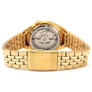 腕時計 メンズ セイコー5(SEIKO5) オートマチック 曜日・日付表示 ステンレスベルト ゴールド/ゴールド色 WS88NKL28K1 / 当店再検品済|ginza-luxury|02