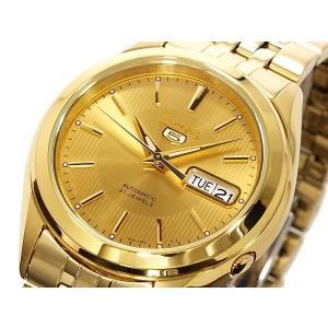 腕時計 メンズ セイコー5(SEIKO5) オートマチック 曜日・日付表示 ステンレスベルト ゴールド/ゴールド色 WS88NKL28K1 / 当店再検品済|ginza-luxury|03