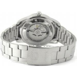 腕時計 メンズ セイコー5(SEIKO5) オートマチック 曜日・日付表示 日本製 ステンレスベルト シルバー/ブラック色 WS88NKN13J1 / 当店再検品済 ginza-luxury 02