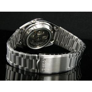 腕時計 メンズ セイコー5(SEIKO5) オートマチック 曜日・日付表示 チェック柄 ステンレスベルト シルバー/ホワイト色 WS88NXF05K1 / 当店再検品済|ginza-luxury|02