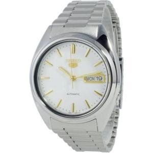 腕時計 メンズ セイコー5(SEIKO5) オートマチック 曜日・日付表示 ステンレスベルト シルバー/ホワイト色 WS88NXG47K / 当店再検品済|ginza-luxury