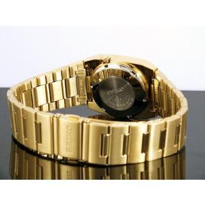 腕時計 メンズ セイコー5ドレス(SEIKO5 DRESS) オートマチック 曜日・日付表示 日本製 四角形 ステンレスベルト ゴールド/ゴールド色 WS88NY012J1 / 再検品済|ginza-luxury|02