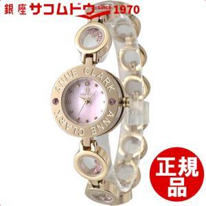 ANNECLARK  アンクラーク  腕時計 レディース  天然ダイヤ入り(12時位置) ピンクゴールド AT1008-17PG[4511778987845-AT1008-17PG]|ginza-sacomdo