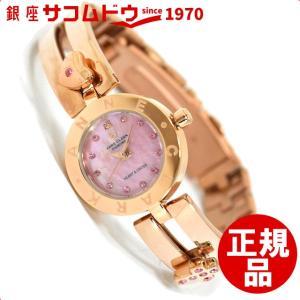 ANNECLARK  アンクラーク  腕時計 レディース  天然1Pダイヤ入り ピンクゴールド AM1020-17PG[4511778988774-AM1020-17PG]|ginza-sacomdo