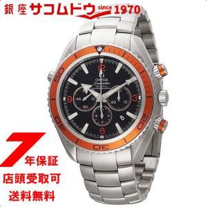 OMEGA オメガ 腕時計 ウォッチ プラネットオーシャンクロノ ブラック文字盤 コーアクシャル自動巻 600M防水 2218.50 メンズ ウォッチ[並行輸入品]|ginza-sacomdo