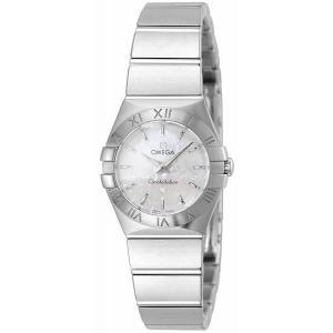 OMEGA オメガ 腕時計 ウォッチ コンステレーション ホワイトパール文字盤 123.10.24.60.05.001 レディース [並行輸入品]|ginza-sacomdo