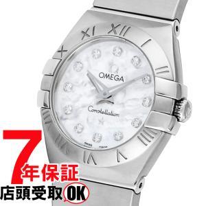 OMEGA オメガ 腕時計 ウォッチ コンステレーション ホワイトパール文字盤 ダイヤ 123.10.24.60.55.001 レディース ウォッチ[並行輸入品]|ginza-sacomdo