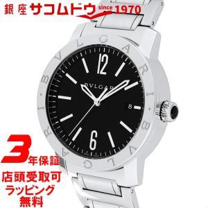 ブルガリ BVLGARI 腕時計 ウォッチ ブルガリブルガリ ブラック文字盤 自動巻 BB41BSSD メンズ [並行輸入品]|ginza-sacomdo