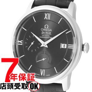 OMEGA オメガ 腕時計 ウォッチ デ・ビル ブラック文字盤 コーアクシャル自動巻 アリゲーター革 424.13.40.21.01.001 メンズ ウォッチ [並行輸入品]|ginza-sacomdo