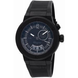 サルヴァトーレ フェラガモ Salvatore Ferragamo 腕時計 ウォッチ F-80 Dualtime メンズ F55LGQ6877S113|ginza-sacomdo