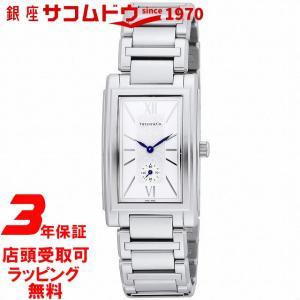 [3年保証][ティファニー]Tiffany&Co. 腕時計 Grand シルバー文字盤 Z0030.13.10A21A00A メンズ [並行輸入品] ginza-sacomdo