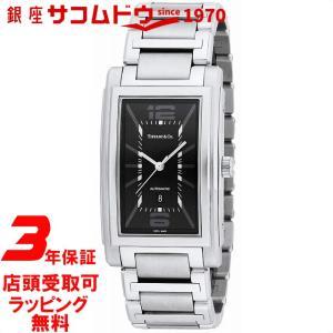 [3年保証][ティファニー]Tiffany&Co. 腕時計 Grand ブラック文字盤 自動巻 Z0031.68.10A10A00A メンズ [並行輸入品] ginza-sacomdo