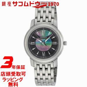 Tiffany & Co. ティファニー 腕時計 Mark (マーク) ブラック×ブラックパール/メタル Z0046.17.10A90A00A|ginza-sacomdo