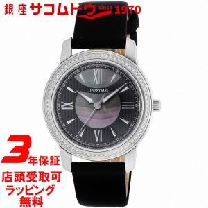 [3年保証][ティファニー]Tiffany&Co. 腕時計 Mark ブラック/ブラックパール文字盤 ダイヤモンド Z0046.17.10B90A40A レディース [並行輸入品] ginza-sacomdo