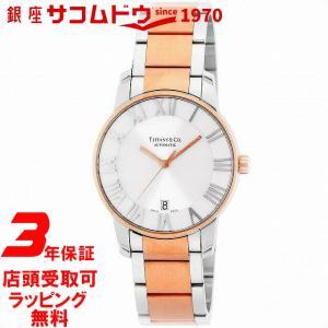 [3年保証][ティファニー]Tiffany&Co. 腕時計 Atlas Dome シルバー文字盤 自動巻 Z1800.68.13A21A00A メンズ [並行輸入品]|ginza-sacomdo