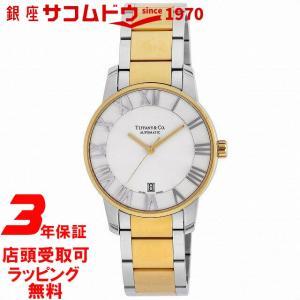 [3年保証][ティファニー]Tiffany&Co. 腕時計 Atlas Dome シルバー文字盤 K18YG/SSケース自動巻 Z1800.68.15A21A00A メンズ [並行輸入品]|ginza-sacomdo