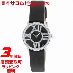 [3年保証][ティファニー]Tiffany&Co. 腕時計 Atlas Cocktail Round K18WG 革ベルト Z1900.10.40E10A40B レディース [並行輸入品]|ginza-sacomdo