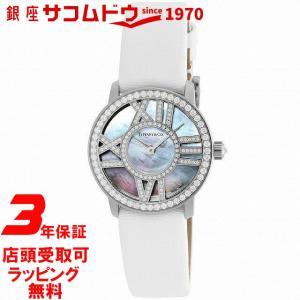 [3年保証][ティファニー]Tiffany&Co. 腕時計 Atlas Cocktail Round ダイヤモンド K18WGケース Z1900.10.40E91A40B レディース [並行輸入品]|ginza-sacomdo