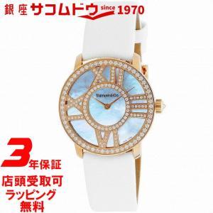 [3年保証][ティファニー]Tiffany?& Co 腕時計 Atlas Cocktail Round ダイヤ K18RG Z1901.10.30E91A40B メンズ[並行輸入品]|ginza-sacomdo