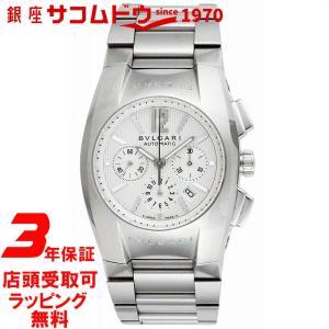 ブルガリ BVLGARI 腕時計 ウォッチ エルゴン ホワイト文字盤 自動巻 クロノグラフ デイト EG35C6SSDCH メンズ [並行輸入品]|ginza-sacomdo