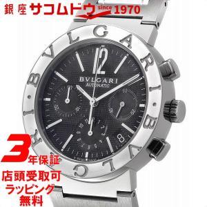 ブルガリ BVLGARI 腕時計 ウォッチ BB38BSSDCH ブルガリブルガリ クロノグラフ ブラック メンズ [並行輸入品]|ginza-sacomdo