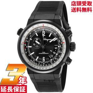 サルヴァトーレ フェラガモ Salvatore Ferragamo 腕時計 ウォッチ F-80 ブラック文字盤 ステンレス(BKPVD) FQ2020013 メンズ [並行輸入品]|ginza-sacomdo