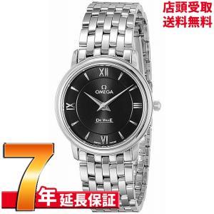 OMEGA オメガ 腕時計 ウォッチ デ・ビル ブラック文字盤 424.10.27.60.01.001 レディース [並行輸入品]|ginza-sacomdo